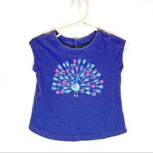 Gap baby Tank top Peacock embroidery - 18-24months
